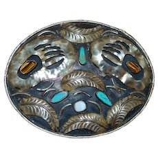 Large Cowboy Belt Buckle