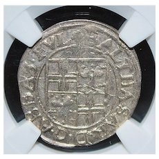 Germany 3k Fulda Silver Coin - 1602