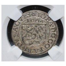Germany 3K Pfalz-Zweibrucken silver coin - 1604