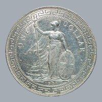 Great Britain Trade Dollar - 1901 - B