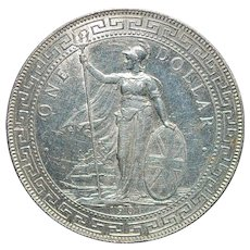 Great Britain Trade Dollar - 1901 - B