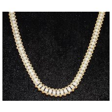 14K Fresh Water Pearl and Gold Necklace