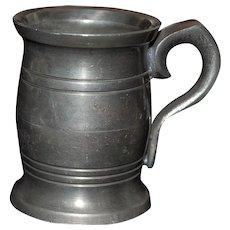 Old Irish Pewter Miniature Mug