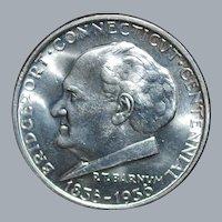 1936 Bridgeport Commemorative Silver Half Dollar