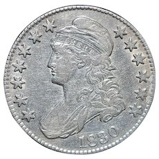 United States Half Dollar Capped Bust - 1830