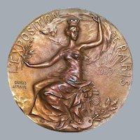 Paris Exhibition Bronze Medal - 1900