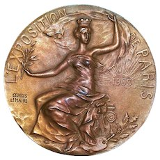 Paris Exhibition Bronze Medal - 1900