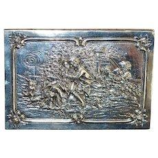 Fine German 800 Silver Box - 1900