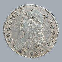 United States Half Dollar - 1818
