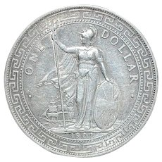 Great Britain Trade Dollar - 1902 B