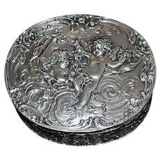 German 19th Century Silver Box