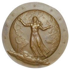 "Large Bronze Medal ""World Peace"" - 1946"