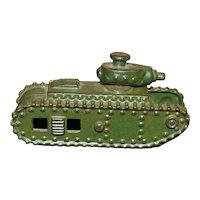 A.  C. Williams Cast Iron Toy Tank