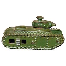 A.  C. Williams Cast Iron Toy Tank