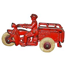 "Hubley ""Crash Car"" Toy"