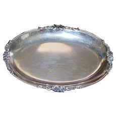 Italian 800 Silver Tray