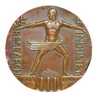 Art Deco Century of Progress Bronze Medal