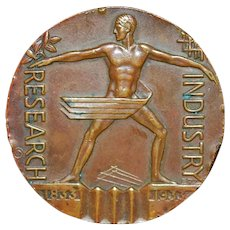 Art Deco Century of Progress Bronze Medal