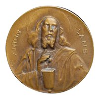 "Bronze Medal ""Passion Play"" - 1910"