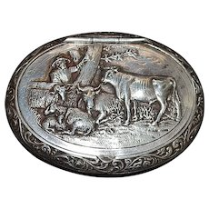 Dutch Silver Snuff Box