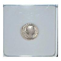 AR Denarius Diana Silver Coin