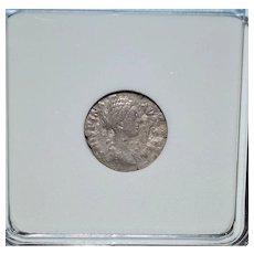 "AR Denarius ""Clasped Hands"" Silver Coin"