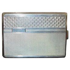 Czech Silver Case - 1930's