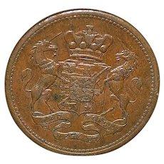Cornish Copper Penny Coin