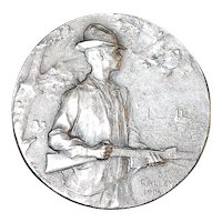 Swiss Silver Hunting Medal