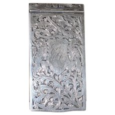 Sterling Silver Note Pad - 1895