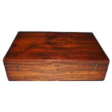 American Wood Document Box, c. 1830