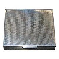 Tiffany & Co. Sterling Silver Box
