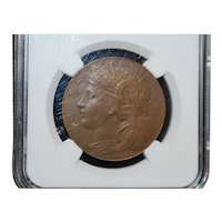 Louisiana Purchase Expo Bronze Medal