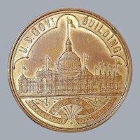 "Columbian Expo ""Dollar"" Bronze Medal"