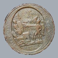 French Revolution Bronze Token - 1792