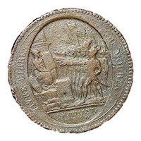French Revolution Bronze Token - 1792
