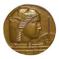 Large 50th Yr Medallic Art Company Art Bronze - 1950