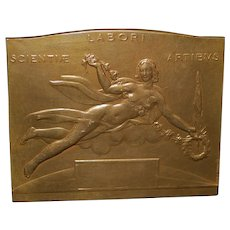 Brussels Universal Exposition Bronze Medal - 1935