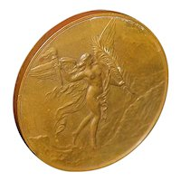 Swiss Bronze Medal - 1891