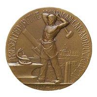 Gorham & Co Bronze First World War Medal