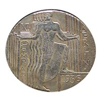German Berlin Olympic Participant's Medal - 1936