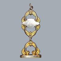 Edwardian Gold Fill Fancy Watch Chain - 1900