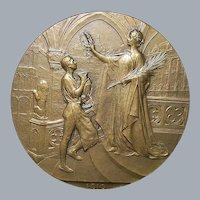 Royal Belgian Expo Bronze Medal - 1910