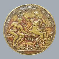 French Universal Exposition Token, Paris - 1889