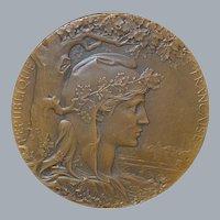 French Paris International Exhibition Bronze Medal - 1900