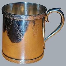 Tiffany & Co. Antique Silver Mug