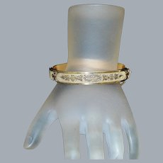 Edwardian Gold Fill Bracelet, c. 1900