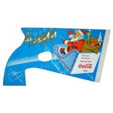 1950s Christmas Santa Advertising COCA-COLA Snap Paper Popper Toy
