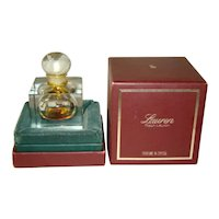 LAUREN Ralph Lauren 1/2 Fl. Oz. PURE Perfume, Lead Crystal Bottle, Orig. Box