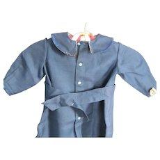 Vintage Child's Blue Wool Coat, Lancaster, PA